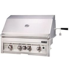 "Sunstone Grills 34"" Gas Grill with 4 Burners Infrared Fuel Type: Natural"