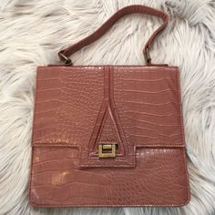 BOGO ITEM-Final Price! Brown Mini Briefcase Bag Flat style briefcase bag.  Brown and used once for like an hour! No brand. Perfect for an iPad or tablet! Price firm for this. Read BOGO LISTING for BOGO details :) Bags
