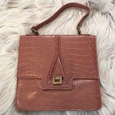 Spotted while shopping on Poshmark: HP! Brown Mini Briefcase Bag! #poshmark #fashion #shopping #style #Handbags