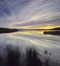 Achiltibuie Reflections, Achiltibuie, Inverpolly, Scotland, fabulous, cloud, flecked, sky, doubled, reflection, mirrored photo by Ian Cameron