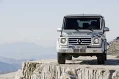 Mercedes Geländewagen.