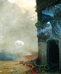 +de 100 pinturas de Zdzisław Beksiński (arte/gotico) - Taringa!