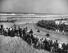 vintage everyday: Rare Photos of Daytona 200 from 1948