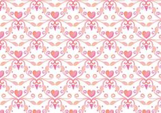 Free Vector Watercolor Heart Royal Background