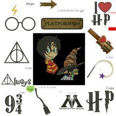 9 3//4 Neun und Drei Quarters Damen T-Shirt Harry Potter Fächer Kleidung