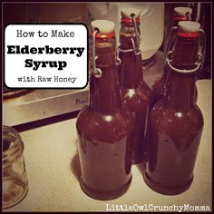 LittleOwlCrunchyMomma: How to Make Your Own Elderberry Syrup