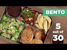 Bento Box Healthy Lunch 5/30 (Vegetarian) - Mind Over Munch - YouTube