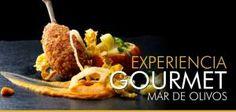 Experiencia Gourmet Mar de Olivos. www.villanazules.com Degusta nuestros exquisitos platos de la carta del Restaurante Mar de Olivos