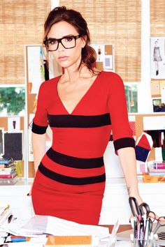 Victoria Beckham's optical line. Can't wait for this to hit stores early next year, via British Vogue.