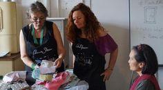 """Designerin Annie Sloan besuchte """"Das Hohe Haus"""" in Schlitz - Fulda. Annie Sloan visited DAS HOHE HAUS, Schlitz for a workshop. Annie Sloan Chalk Paint, Designer, Workshop, Fulda, Atelier, Work Shop Garage"""