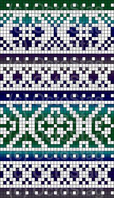Gradient Fair Isle Pattern                                                                                                                                                                                 More
