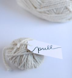 Make It :: Gift Card Yarn Bombs | Thoughtfully Simple