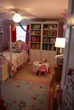 Pink and Green Mama: * Kid-Friendly Spaces and Toy Storage Solutions In Our Home