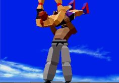 Image result for virtua fighter low poly