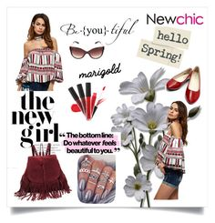 """""""#Newchic"""" by kristina779 ❤ liked on Polyvore featuring polyvorefashion"""
