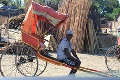pousse-pousse à Tamatave