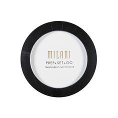 Primer/Setting Powder Prep+Set+Go Transparent Face Powder, Milani $9