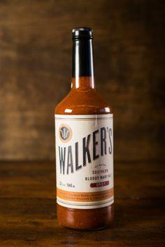 Walker's Bloody Mary Mix on BourbonandBoots.com #bloodymarymix #cocktail #recipes