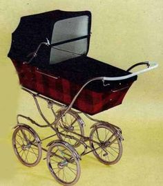 1968 Sventskillverkade Brio Elegant Vintage Pram, Prams And Pushchairs, Baby Carriage, Very Lovely, Kids And Parenting, Baby Strollers, Visa, Dolls, Retro
