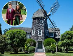 Robert Downey Jr bought the historic Windmill House in East Hampton, NY, and immediately gave it a makeover. See the dramatic before and after pics!