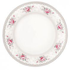GreenGate Stoneware Plate Sophie Vintage D 20,5 cm | Autumn/Winter 2013 | Originated-Webshop
