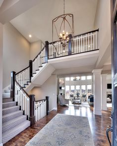 Entry & Staircases Photo Gallery | Custom Homes in Kansas City KS | Starr Homes