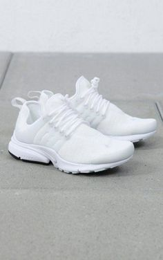 Nike Sportswear - W Air Presto sneakers shoes outfit outwear sport sportswear street streetswear trend fashion style spring summer 2017 clothing women girl men boy Sneakers Outfit Summer, Girls Sneakers, Sneakers Fashion, Summer Outfit, Platform Tennis Shoes, White Tennis Shoes, Nike Shoes Women White, White Sneakers Nike, Women Nike