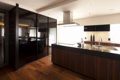 キッチン2(高台に建つ都心のセカンドハウス(リノベーション)) - キッチン事例|SUVACO(スバコ)