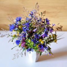 Polne kwiaty - rustykalny bukiet
