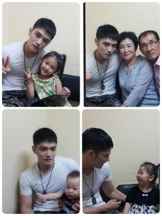 150812 Backstage Photos of Kim Jaejoong with his parents, nieces and nephew in LOVE Concert for Korea's 70th Anniversary of Independence (Kim Suk Jin Twitter Update) Hyuna who received a 'Happy Birthday' as a present from her uncle~ Fool for his niece^^ We love our youngest whose image even glowed singing in his military uniform