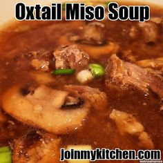 Oxtail Miso Soup Recipe
