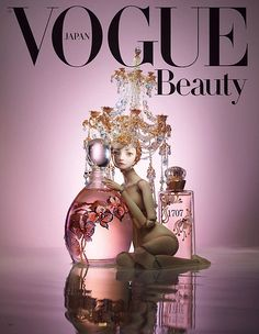 Japanese Vogue Beauty and Marina Bychkova.