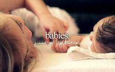 Babies...awwww love them! They are sooooooooooooooo adorable! <3