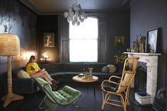 Londres : Élégance feutrée. / La maison de Jo et Graham Atkins-Hughes.
