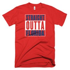 COMPTON T SHIRT GIFT PRESENT FUNNY SIZES S-XXL YOUR TEXT HERE STRAIGHT OUTTA