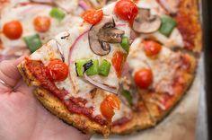 Healthy Cauliflower Pizza #TastyFreshFriday