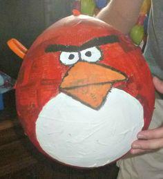 Daddy's DIY Angry Birds Pinata - Make your own Angry Birds Pinata  