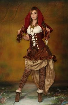 Steampunk Red Riding Hood? I dig.