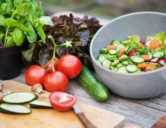 Fresh Vegetable On Garden Table - Hinterhaus Productions/Digital Vision/Getty Images