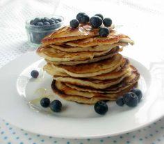 Pancakes au Thermomix sans gluten, lait et peu de glucides