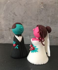 Fondant, Desserts, Food, Wedding Cakes, Figurine, Tailgate Desserts, Deserts, Essen, Postres