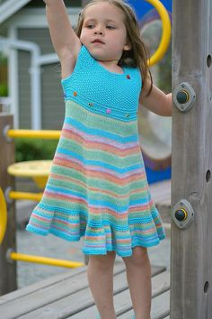 Ravelry: Shades of Summer Dress pattern by Elena Nodel  -  free