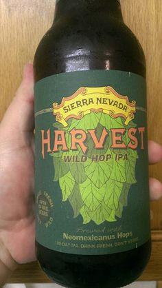 Sierra Nevada Harvest Wild Hop IPA 2014