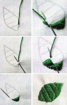 Hand Embroidery For Beginners B Machine Embroidery Thread, Embroidery Stitches Tutorial, Sewing Stitches, Hand Embroidery Patterns, Embroidery Kits, Embroidery Techniques, Cross Stitch Embroidery, Simple Embroidery, Silk Ribbon Embroidery