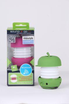 SOUND 2 GO: Mobile-Speaker: LED-Bluetooth-Speaker // Bereich: Consumer Electronics / Unterhaltungselektronik // Weitere Informationen: http://www.pr4you.de/pressemitteilungen.html | http://www.mobiset.de | http://www.pr4you.de