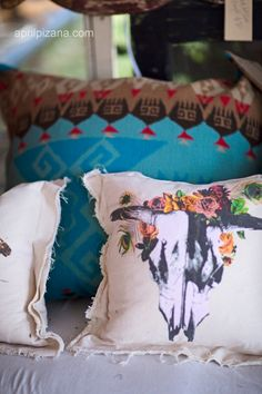 Junk Gypsy Desperado pillow