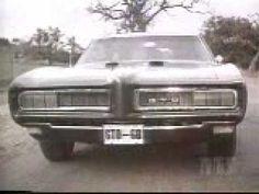 1968 Pontiac GTO commercial. (Ha ha! Love this.)
