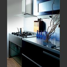 Contemporary, lustrous, and spacious, the Futuro Futuro 48 inch Capri stainless steel range hood is an excellent kitchen accessory for luxury, modern style kitchens. Kitchen Hoods, Range Hoods, Steel Wall, Concorde, Traditional, Kitchens, Stainless Steel, Design, Home Decor