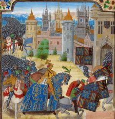 Duke of Burgundy. Jean Froissart, Chroniques, volume 2  Netherlands, S.; Last quarter of the 15th century. Medieval Imago & Dies Vitae Idade Media e Cotidiano.