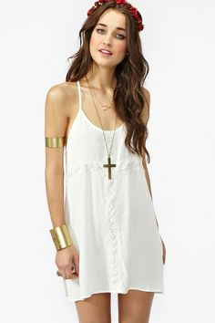 slip dress + arm cuff = YES.